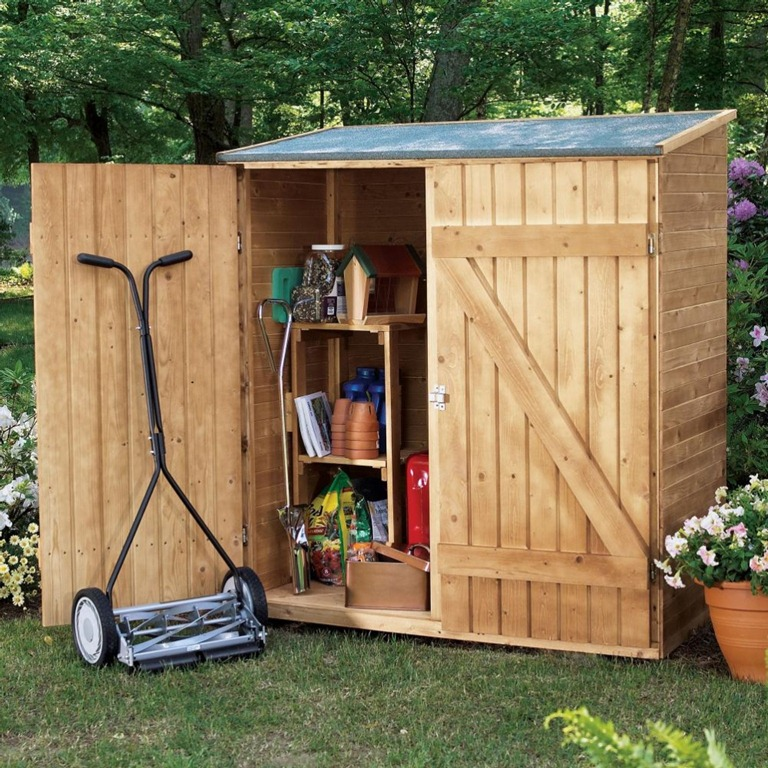 Outdoor Wood Shed Plans