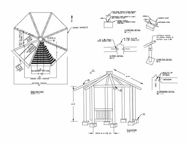 Woodwork Gazebo Plan Pdf Plans