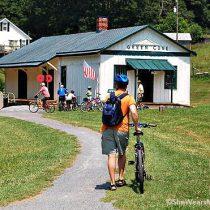 biking the virginia creeper trail