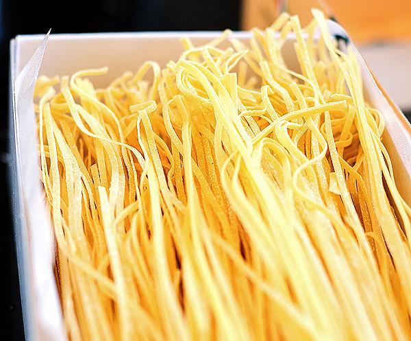 Shrimp Pasta with Cilantro Pesto Recipe