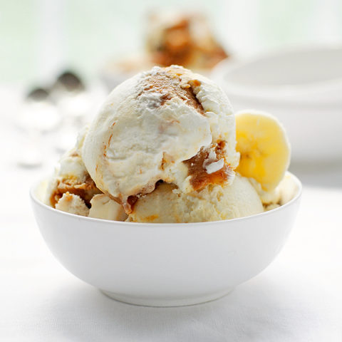 Bananas Foster Ice Cream