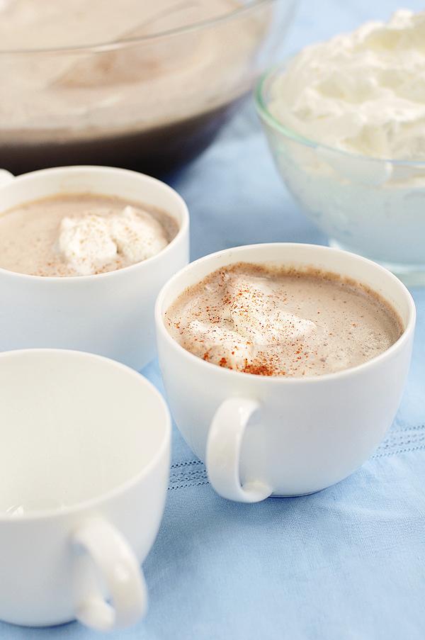 Mocha Coffee Punch Recipe | shewearsmanyhats.com