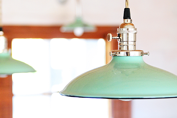The Retreat Remodel No. 4 – New Kitchen Lighting from Barn Light Electric #diy