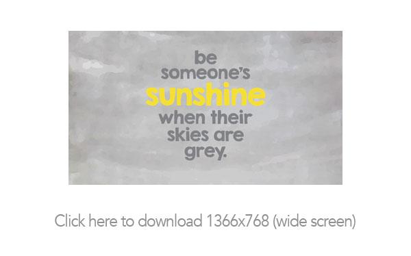 Be Sunshine Free Printable and Desktop Backgrounds