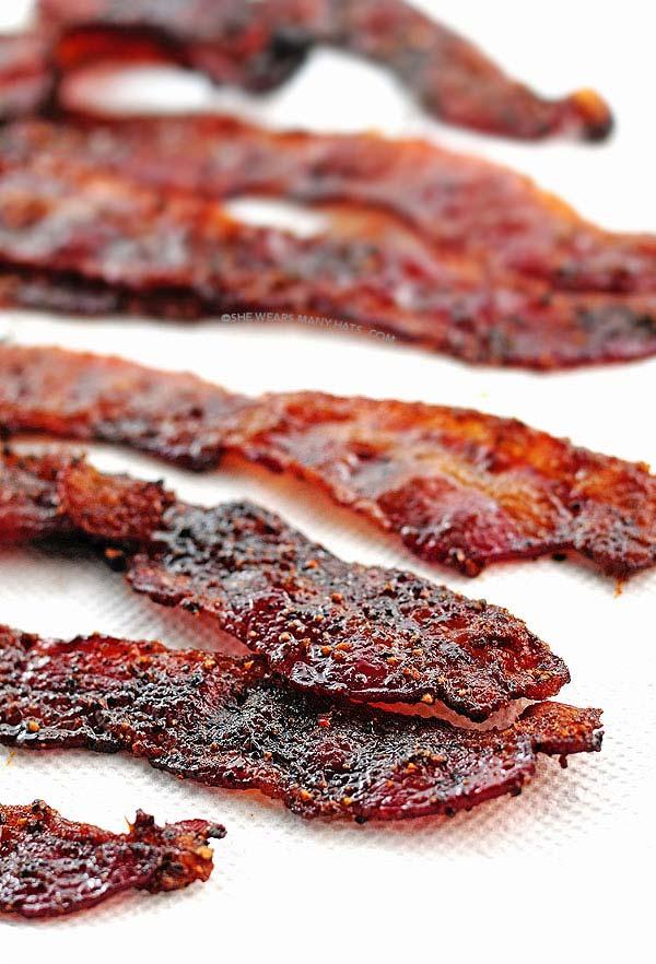 easy brown sugar bacon