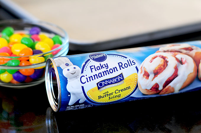 Easy Easter Cinnamon Rolls