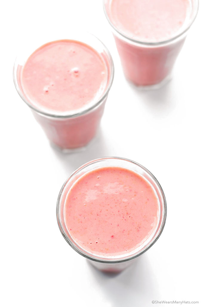 Strawberry Oatmeal Smoothie Recipe