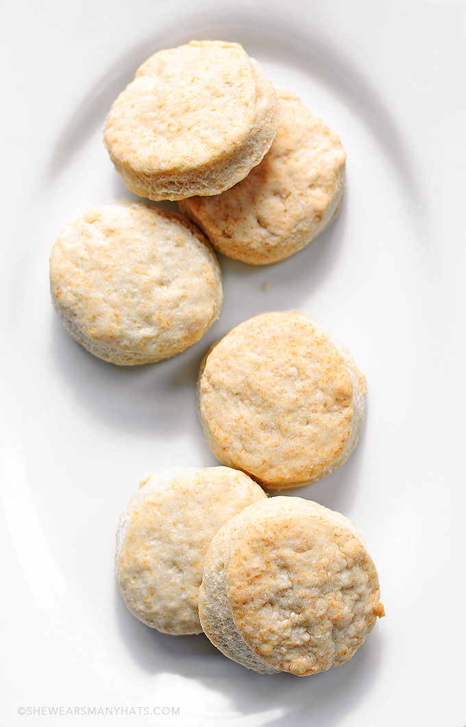 Easy Whipped Cream Biscuit Recipe   shewearsmanyhats.com