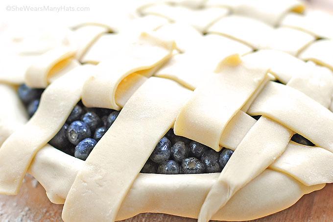 lattice top pie