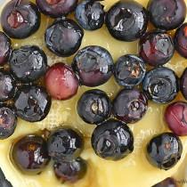 Blueberry Baked Brie Recipe shewearsmanyhats.com