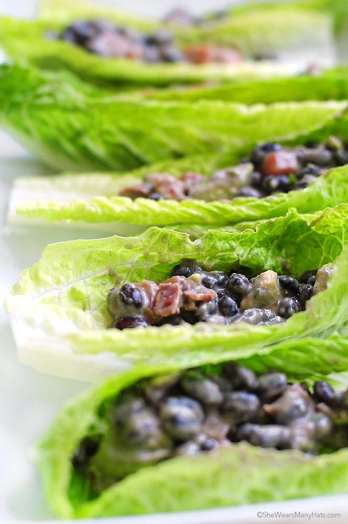 Black Bean Salad Boats Recipe shewearsmanyhats.com