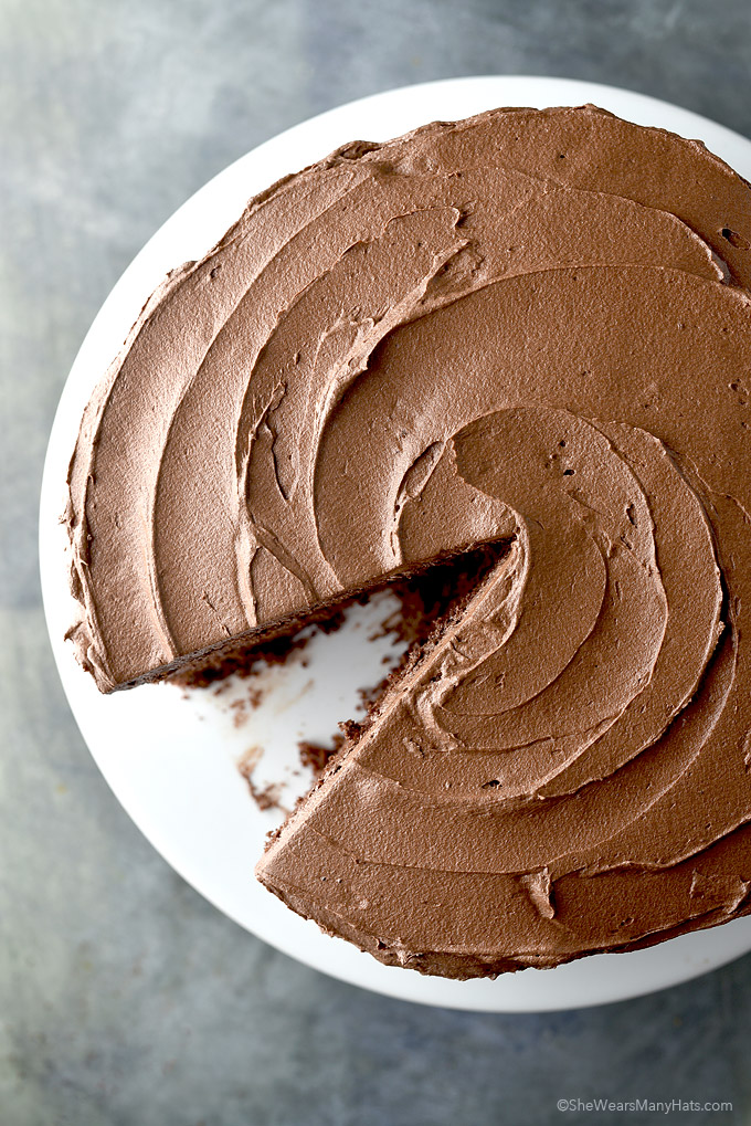 Perfect Chocolate Cake Recipe from shewearsmanyhats.com