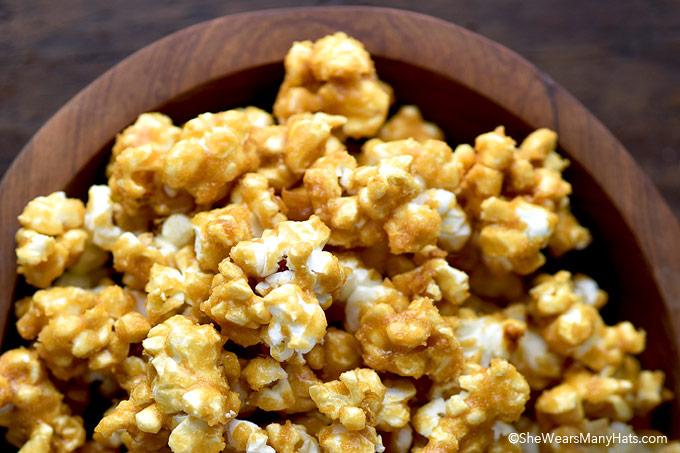 Homemade Caramel Popcorn Recipe