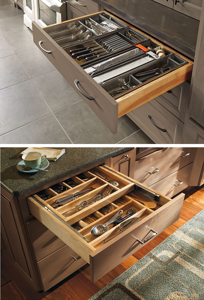 Customized Kitchen Cabinets from MasterBrand