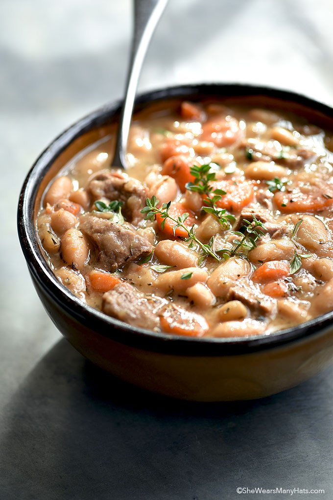 Beef and Bean Soup Recipe