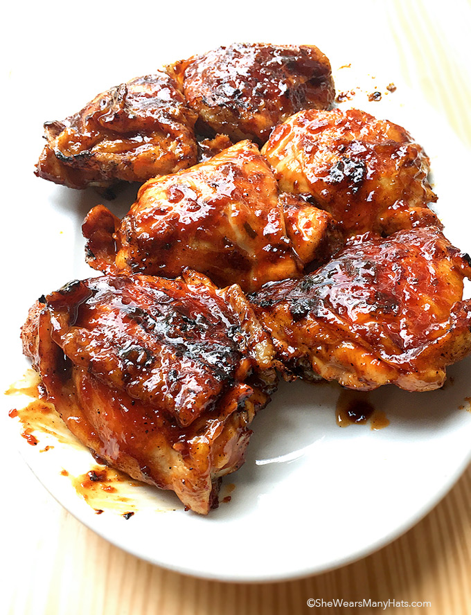 Korean BBQ Chicken Recipe   shewearsmanyhats.com