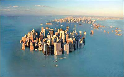 Rising Ocean Levels Shifting Ocean Environments