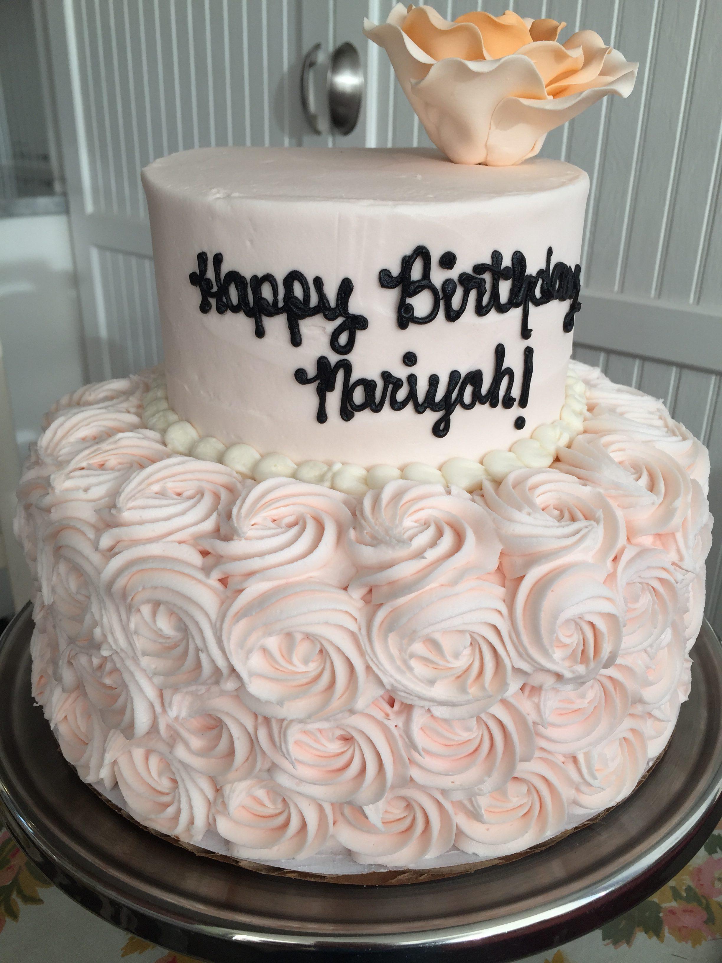 2 Tier Birthday Cakes The Cakeroom Bakery Shop