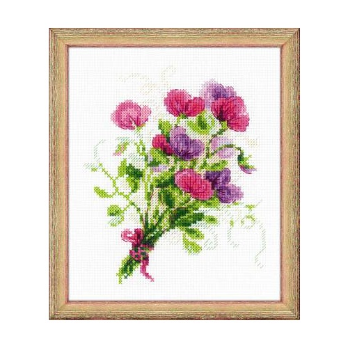 sweet pea embroidery # 35