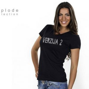 T-Shirt Lady Black
