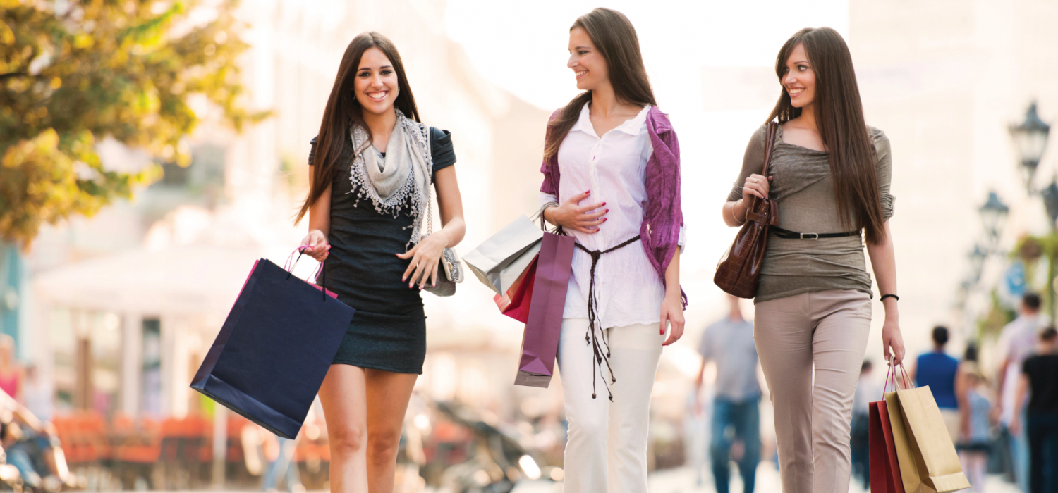 ladies shopping and dining - 1000×626