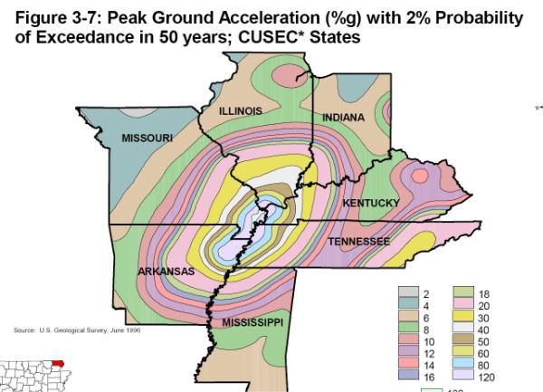 Oklahoma Earthquake Fault Line Map Oklahoma