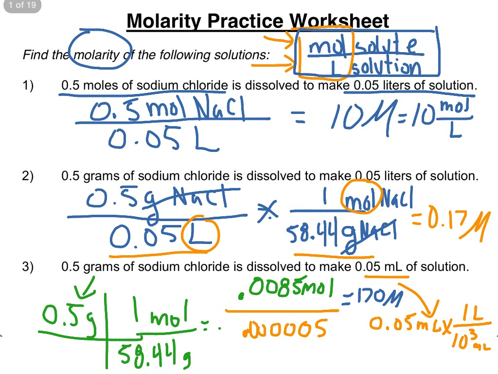 worksheet Molarity Worksheet 2 chemistry practice worksheets free library download and mol rity pr ctice w ksheet 1 3 science luti s