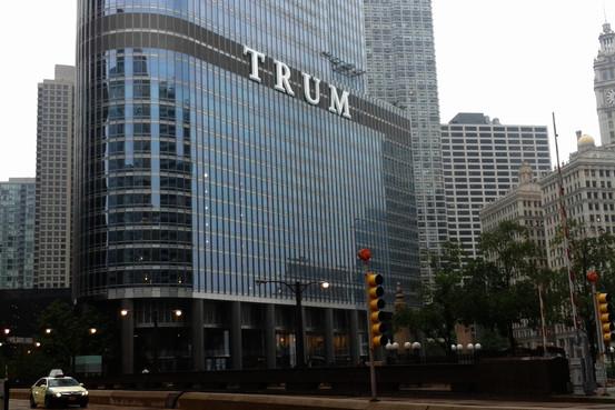 Trump Sign Riles Chicago Wsj