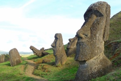 Easter Island Statue Heads Have Bodies! on Pinterest ...