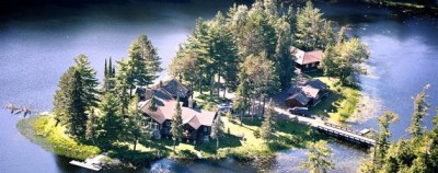 Luxury Real Estate: Little Island in the Big Woods of ...