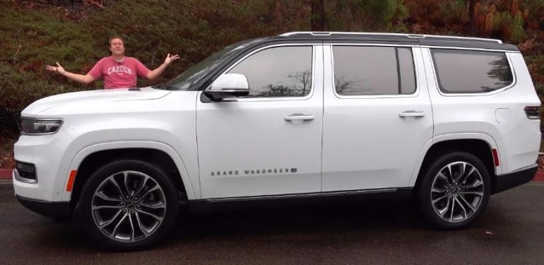 2022 Jeep Grand Wagoneer 110 bin $ Ultra Lüks SUV