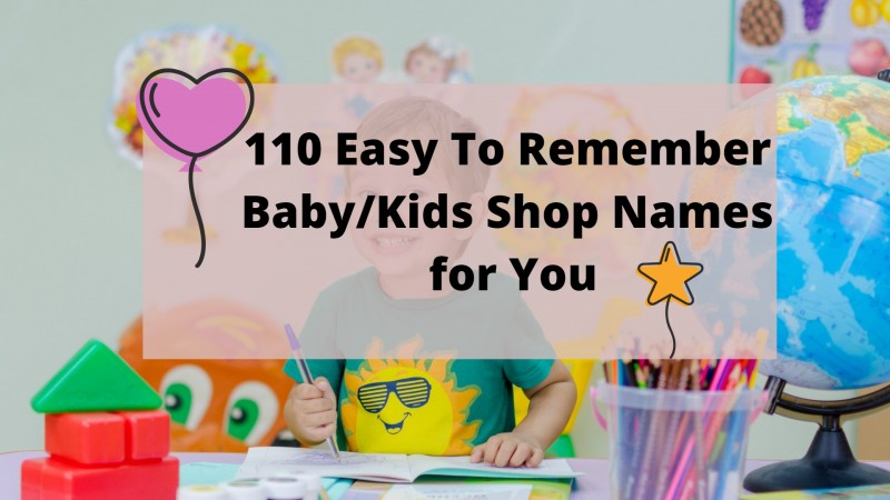 kids shop names