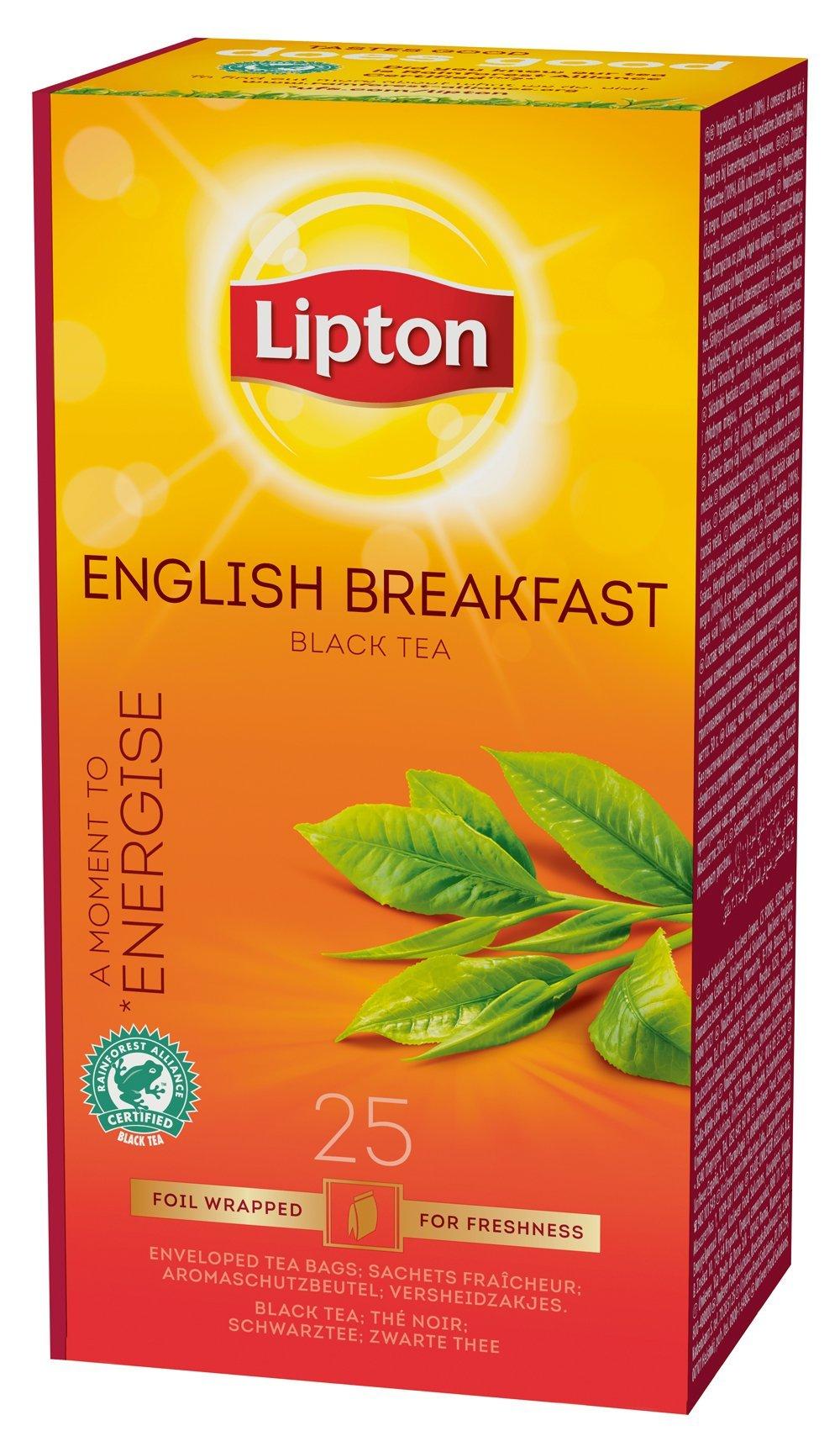 Original Lipton Tea Black Pyramid English Breakfast 25s