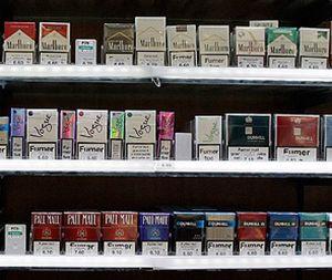 Mærker af tynde cigaretter