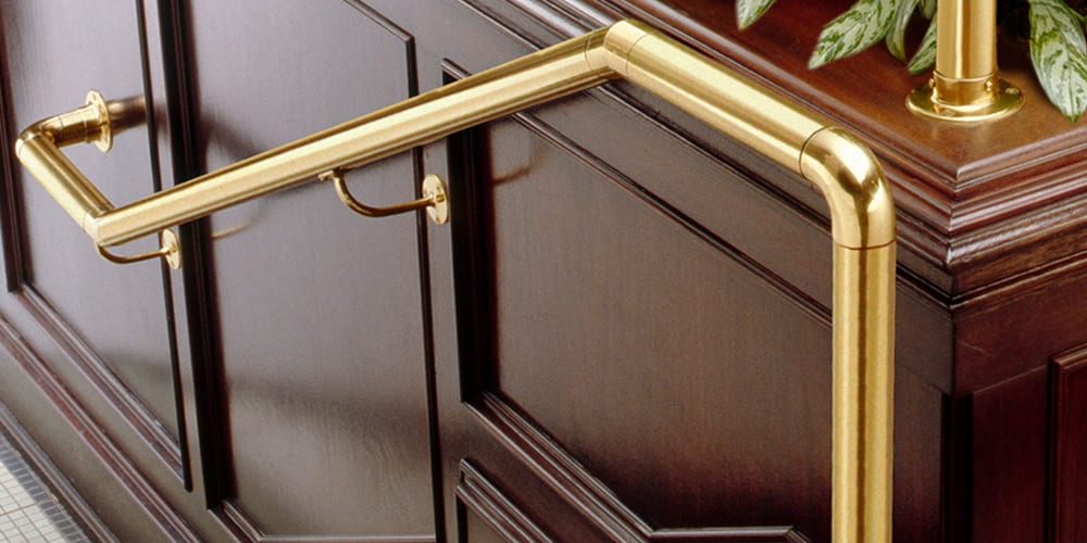 How To Choose A Perfect Handrail Staircase Design | Brass Handrails For Stairs | Aluminum | Classic | Medallion | Cantilevered Spiral Stair | Wrought Iron Railing
