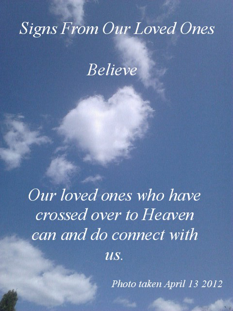 Signs From Our Loved Ones Inspirational Quotes 3