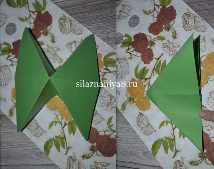 Рождестволық ағаш оригами