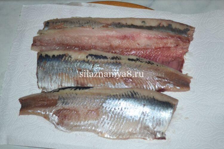 kung paano i-cut ang isang herring sa fillet