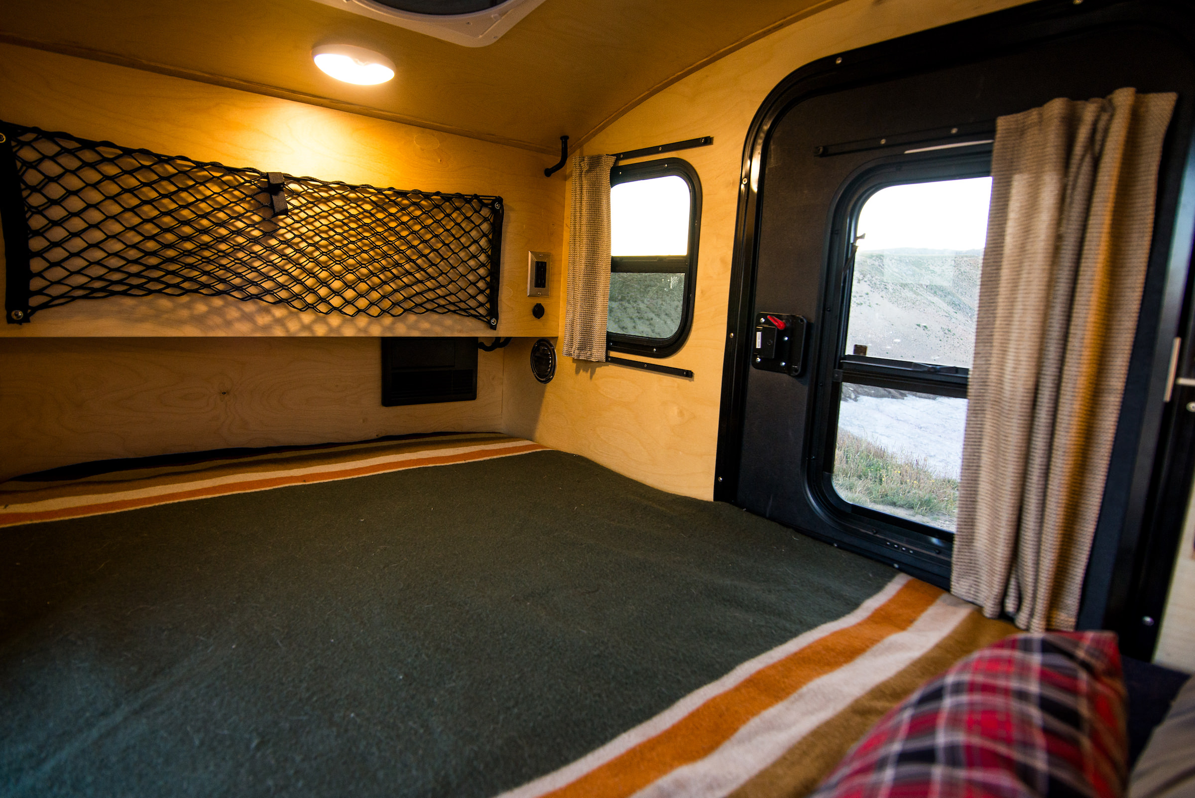 Teardrop Camper Interior