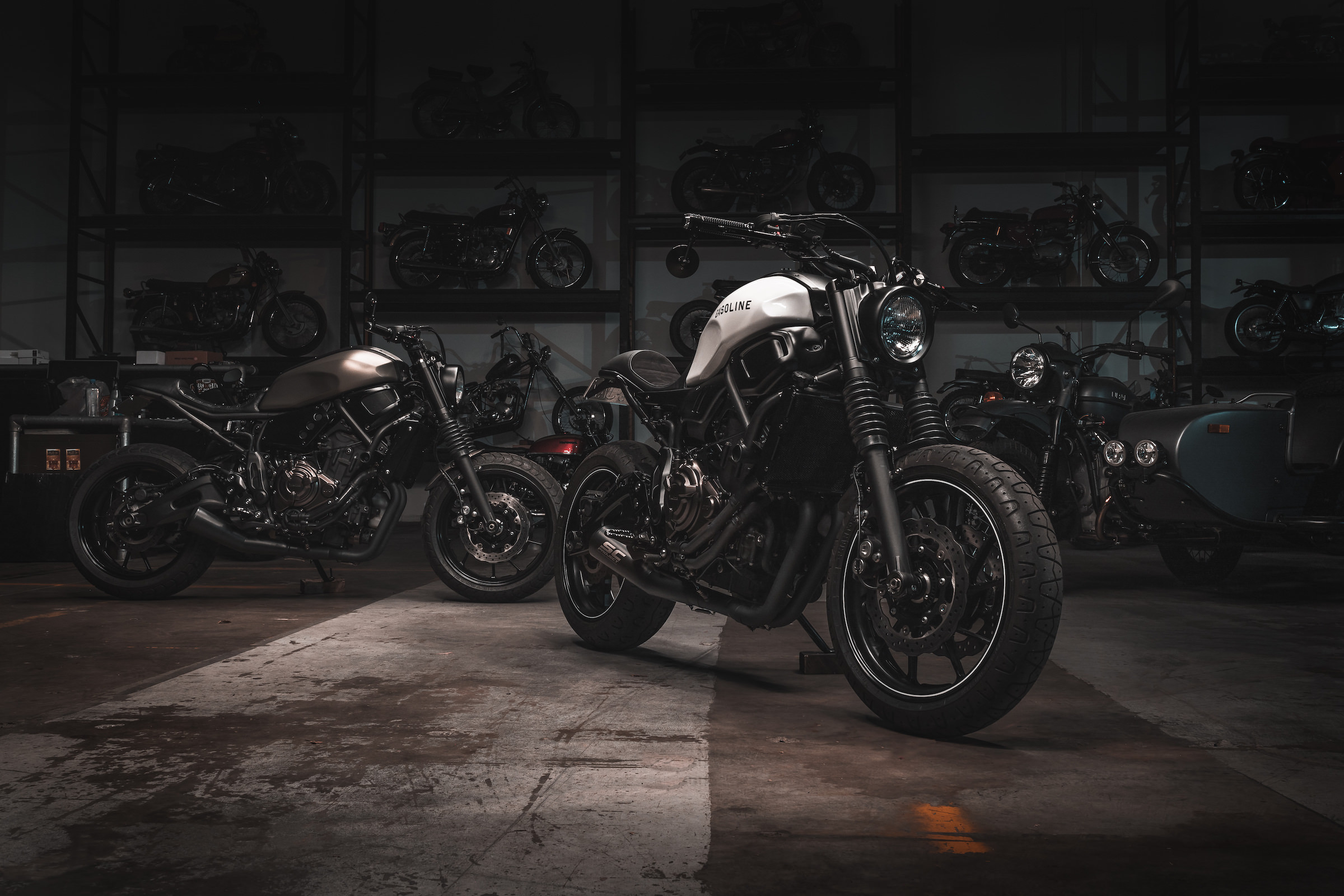 Yamaha Xsr 700 Twin Street Fighters By Gasoline Motor Co