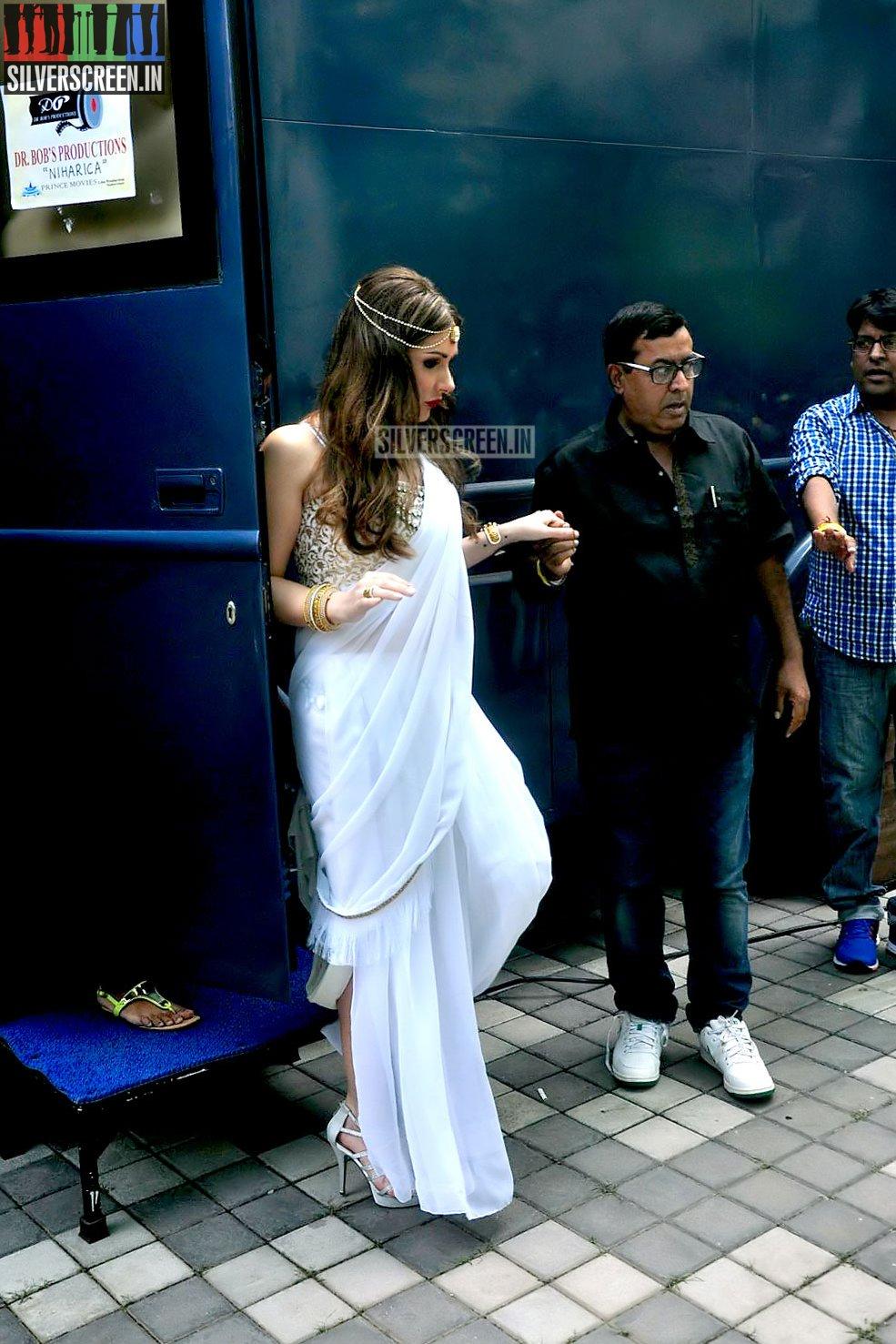 Lucy Pinder S Bollywood Movie Warrior Savitri Launch
