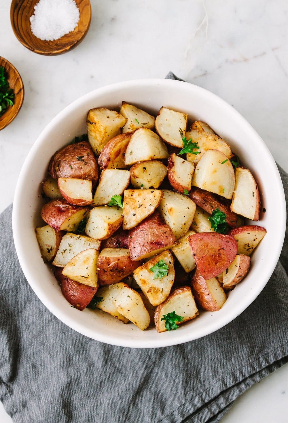 Bowl Oven Roasted Potatoes