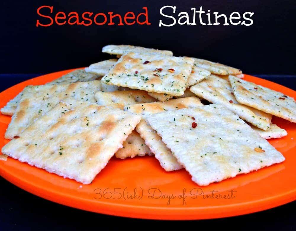 seasoned saltines