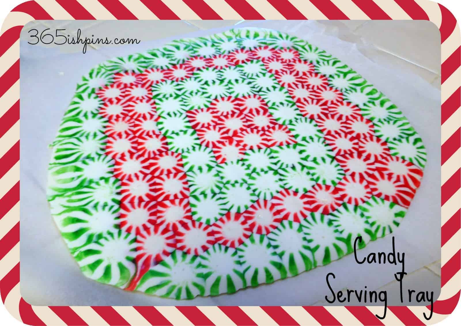 candy serving tray