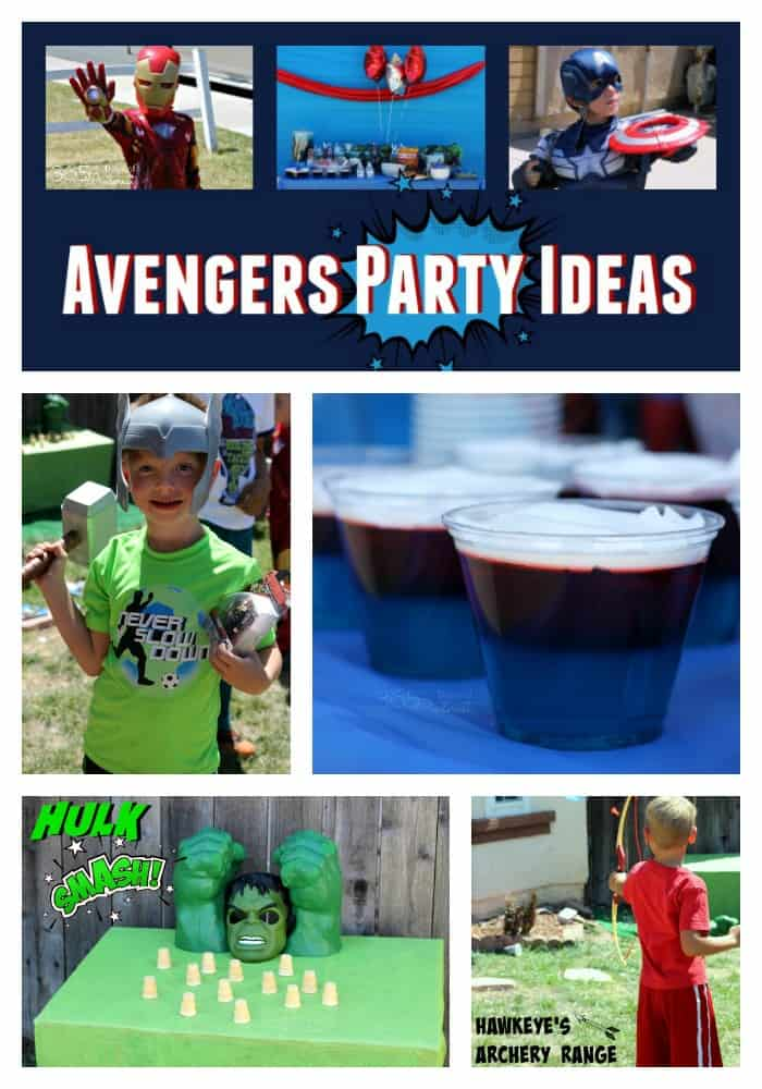 Games, snacks, toys and decorations and everything else you need to throw an amazing Avengers party! Captain America | Iron Man | Hulk | Hawkeye  via @nmburk