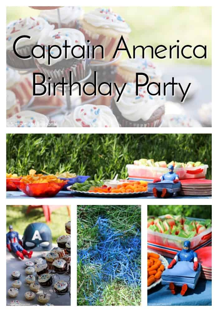 If you're child's going to look up to a superhero, Captain America is probably the best one out there. Celebrate with a Captain America birthday party this year! via @nmburk