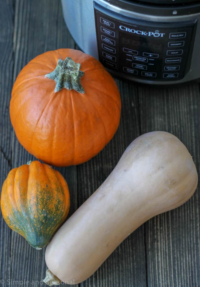 Cut down on prep time and add this healthy food group to your diet by learning how to cook squash in the Crockpot Express!