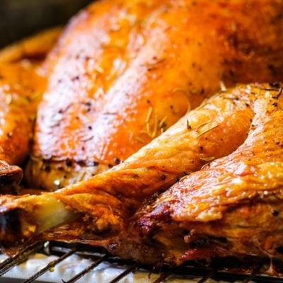 whole turkey breast and leg