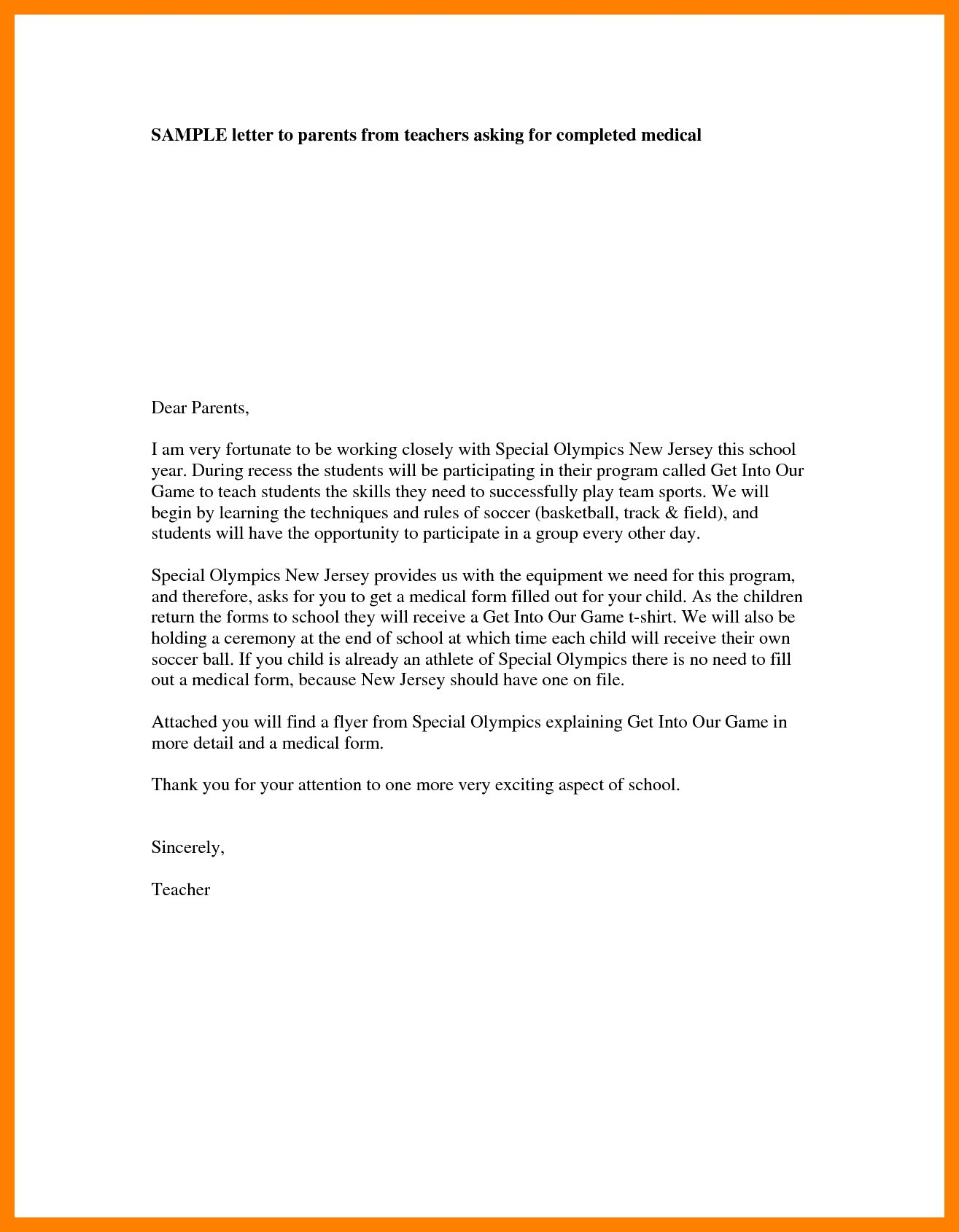 Letter To Parents From Teacher Beginning Of The Year.Teacher Parent Letter Yupar Magdalene Project Org