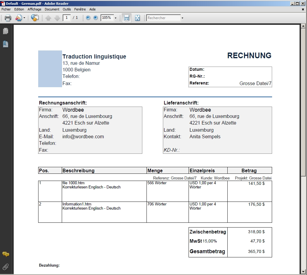 sales receipt form online
